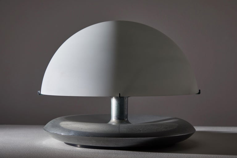 Plated Pair of Table Lamps by Venini For Sale
