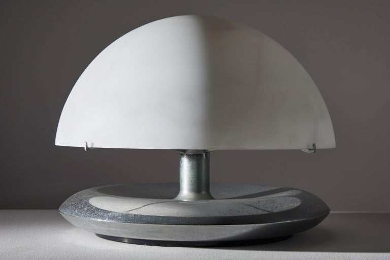 Pair of Table Lamps by Venini In Good Condition For Sale In Los Angeles, CA