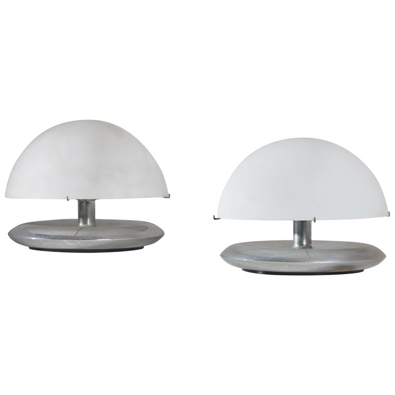 Pair of Table Lamps by Venini For Sale