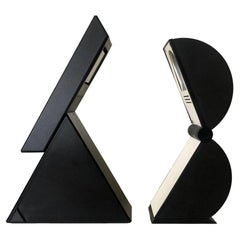 """Pair of Table Lamps """"Delta"""" and """"Disco"""" by Mario Bertorelle for JM RDM, 1980s"""