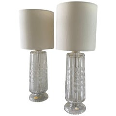 Pair of Table Lamps from Czechoslovakia