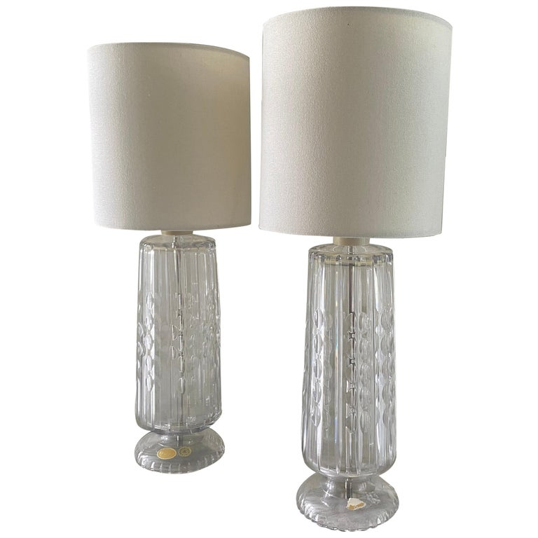 Pair of Table Lamps from Czechoslovakia For Sale