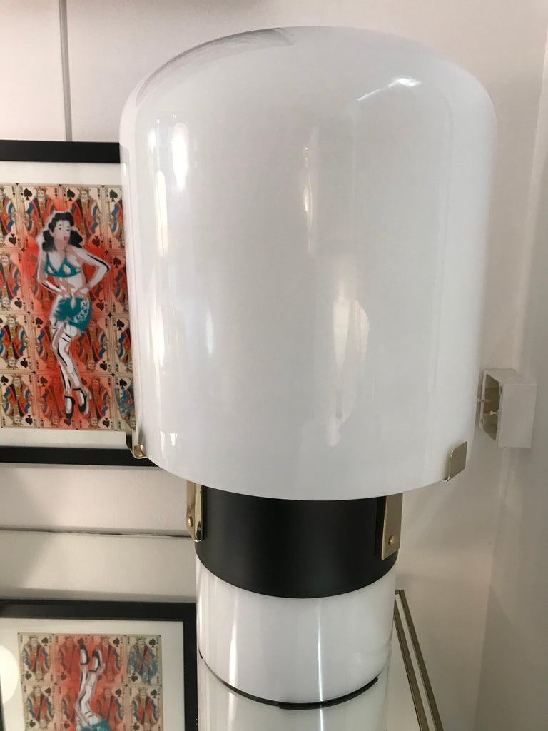 Rare and beautiful pair of table lamps