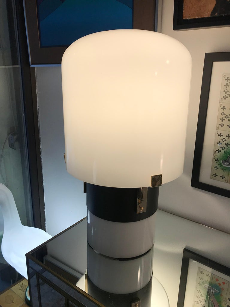Pair of table lamps LOM Monza Design In Good Condition For Sale In Paris, FR