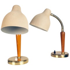 Pair of Table Lamps Made by EOS, Sweden, 1950s