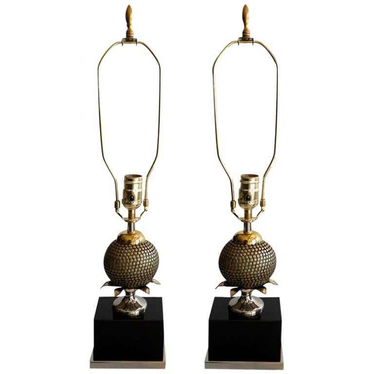 Pair of Table Lamps Maison Charles Style