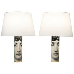 Pair of Table Lamps Model Julia by Fornasetti