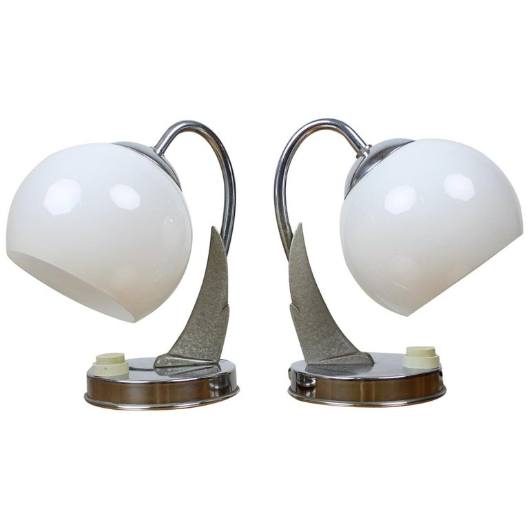 Pair of Table Lamps/Zukov, 1950s For Sale