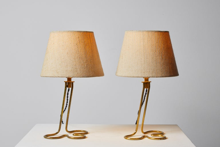Mid-Century Modern Pair of Table/Wall Lights by Mauri Almari for Idman Oy For Sale