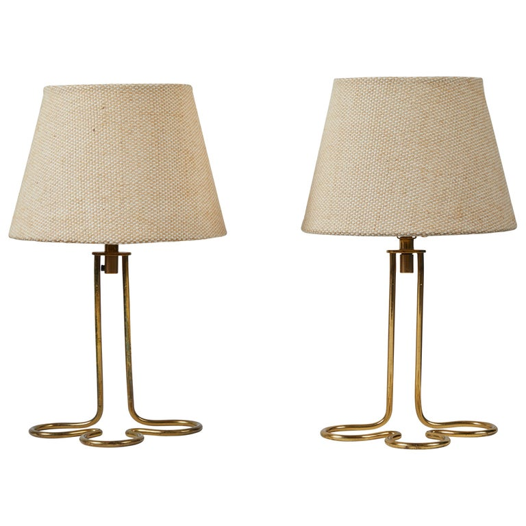 Pair of Table/Wall Lights by Mauri Almari for Idman Oy For Sale