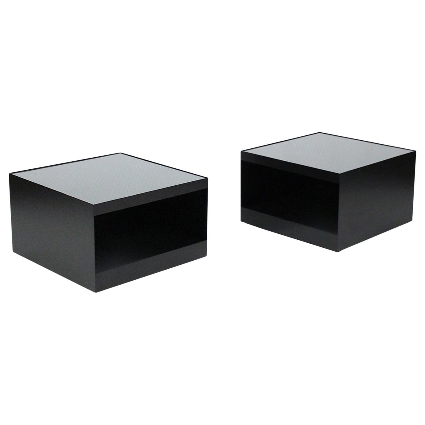 Pair of Tables by Joe D'Urso for Knoll
