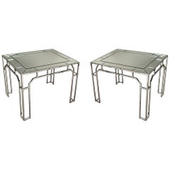 Pair of Tables by Milo Baughman