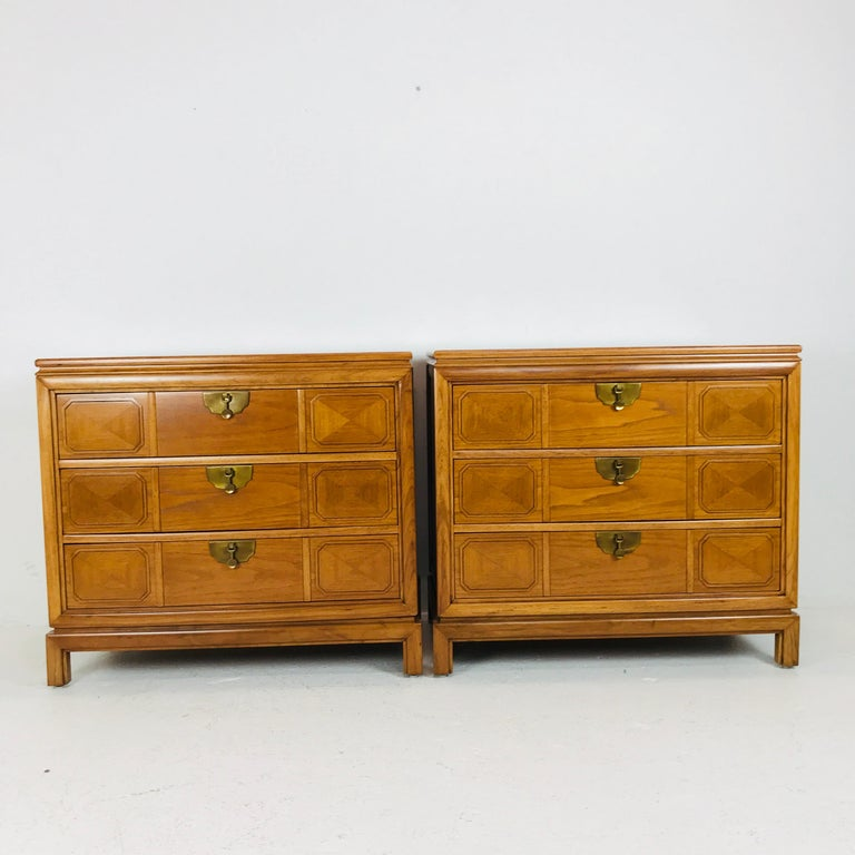 Pair Of Tamerlane Bachelor Chest By Thomasville For Sale