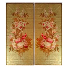 Pair of Tapestry Doors from the Royal Manufacture of Aubusson
