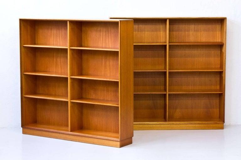 pair of teak bookshelves by bertil fridhagen for bodafors sweden 1962 in good condition - Teak Bookshelves