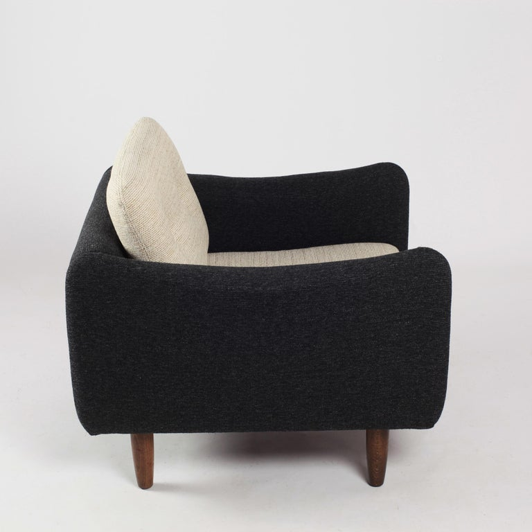 Pair of Teckel Armchairs by Michel Mortier for Steiner, France, 1960s For Sale 3