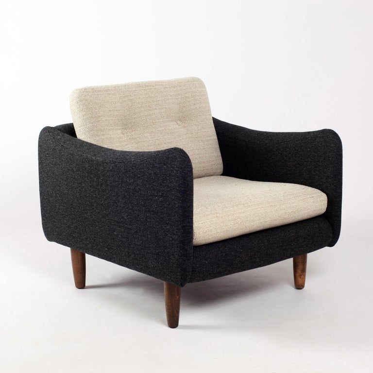 Pair of Teckel Armchairs by Michel Mortier for Steiner, France, 1960s For Sale 4