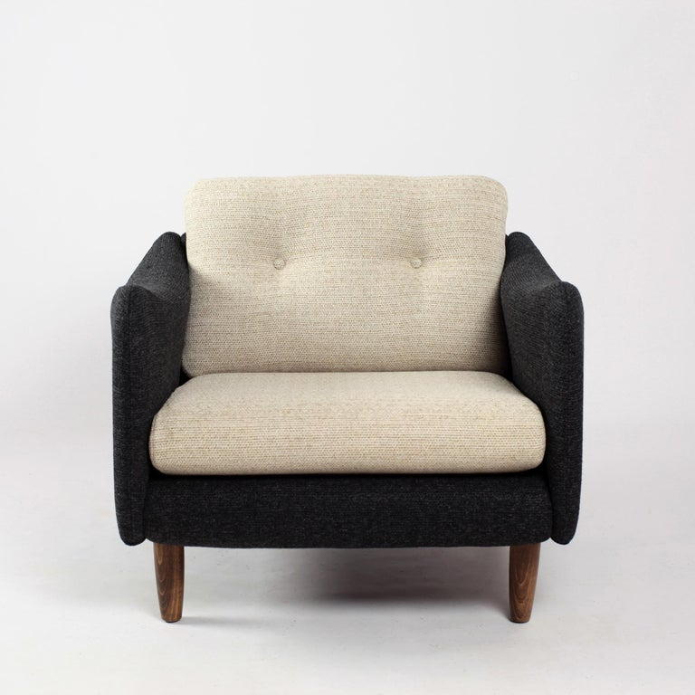 Pair of Teckel Armchairs by Michel Mortier for Steiner, France, 1960s For Sale 5