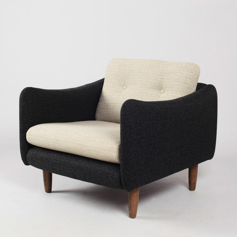 Pair of Teckel Armchairs by Michel Mortier for Steiner, France, 1960s For Sale 6