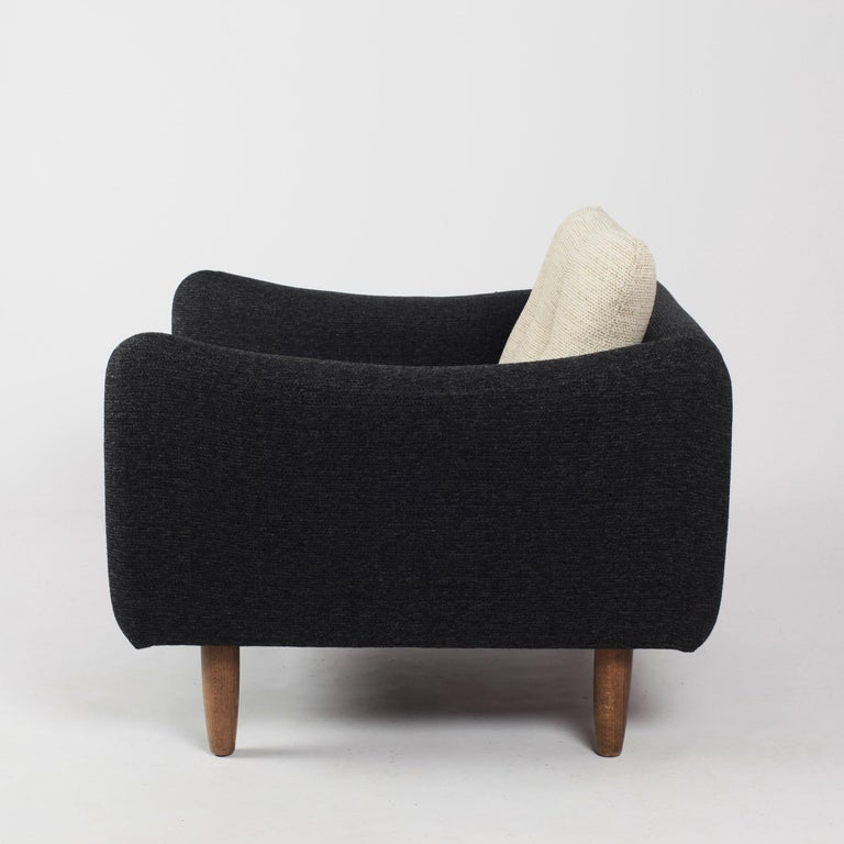 Pair of Teckel Armchairs by Michel Mortier for Steiner, France, 1960s For Sale 7