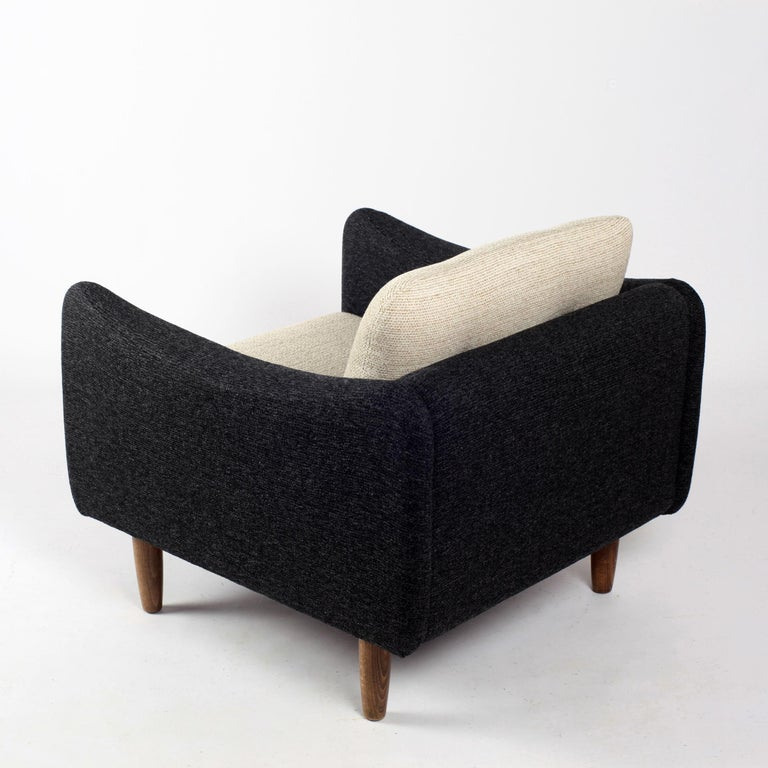 Pair of Teckel Armchairs by Michel Mortier for Steiner, France, 1960s For Sale 8