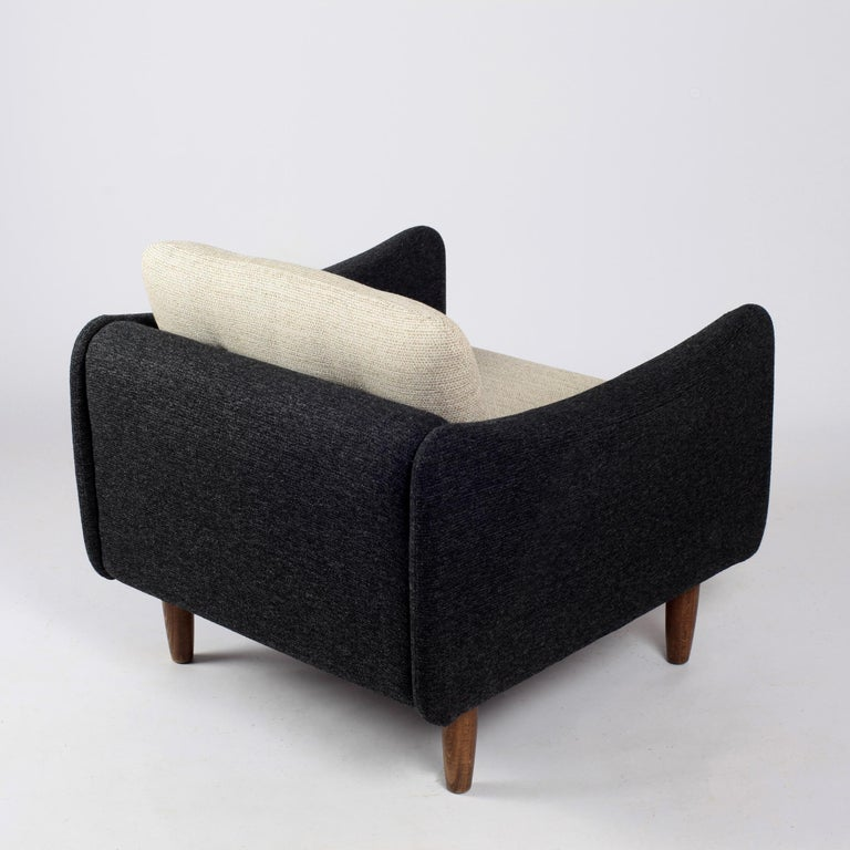 Pair of Teckel Armchairs by Michel Mortier for Steiner, France, 1960s For Sale 9