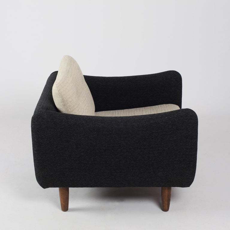 Pair of Teckel Armchairs by Michel Mortier for Steiner, France, 1960s For Sale 10