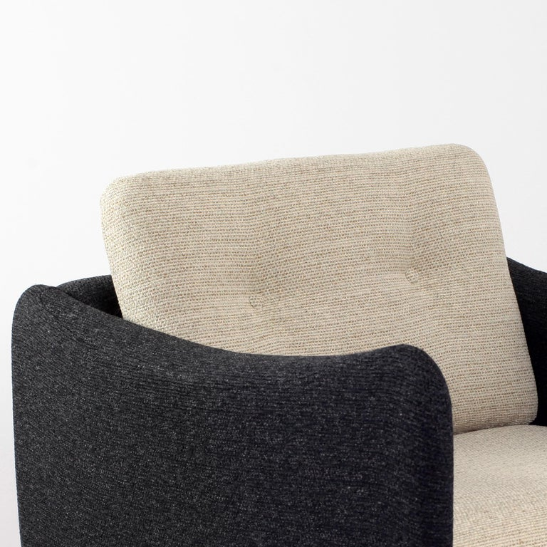 Pair of Teckel Armchairs by Michel Mortier for Steiner, France, 1960s For Sale 12