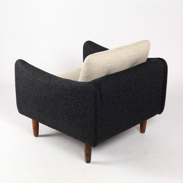 Pair of Teckel Armchairs by Michel Mortier for Steiner, France, 1960s For Sale 1
