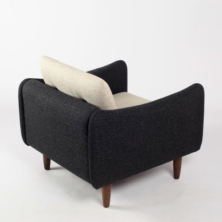 Pair of Teckel Armchairs by Michel Mortier for Steiner, France, 1960s For Sale 2
