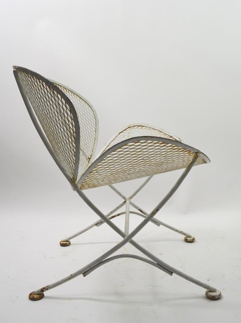 20th Century Pair of Tempestini for Salterini Clamshell Lounge Chairs For Sale