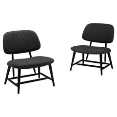 """Pair of """"TeVe"""" Chairs by Alf Svensson Sweden, circa 1950"""