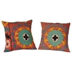 Pair of Textile Pillows