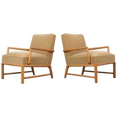 Pair of  T.H. Robs John Gibbings Modern Style Lounge Chairs
