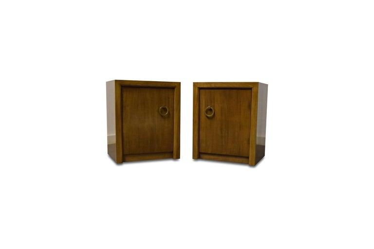 American Pair of T.H. Robsjohn-Gibbings for Widdicomb Nightstands For Sale
