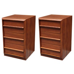 Pair of T.H. Robsjohn-Gibbings for Widdicomb Small Modern Chests