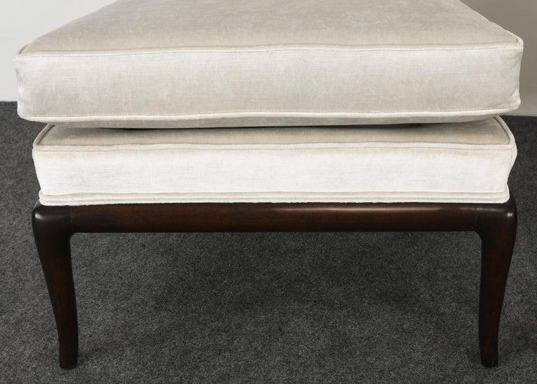 Pair of T.H. Robsjohn Gibbings Slipper Chairs, 1950s For Sale 5