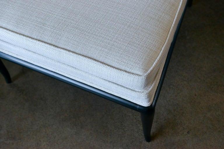 Pair of T.H. Robsjohn-Gibbings Slipper Chairs, Model WMB, 1955 For Sale 5