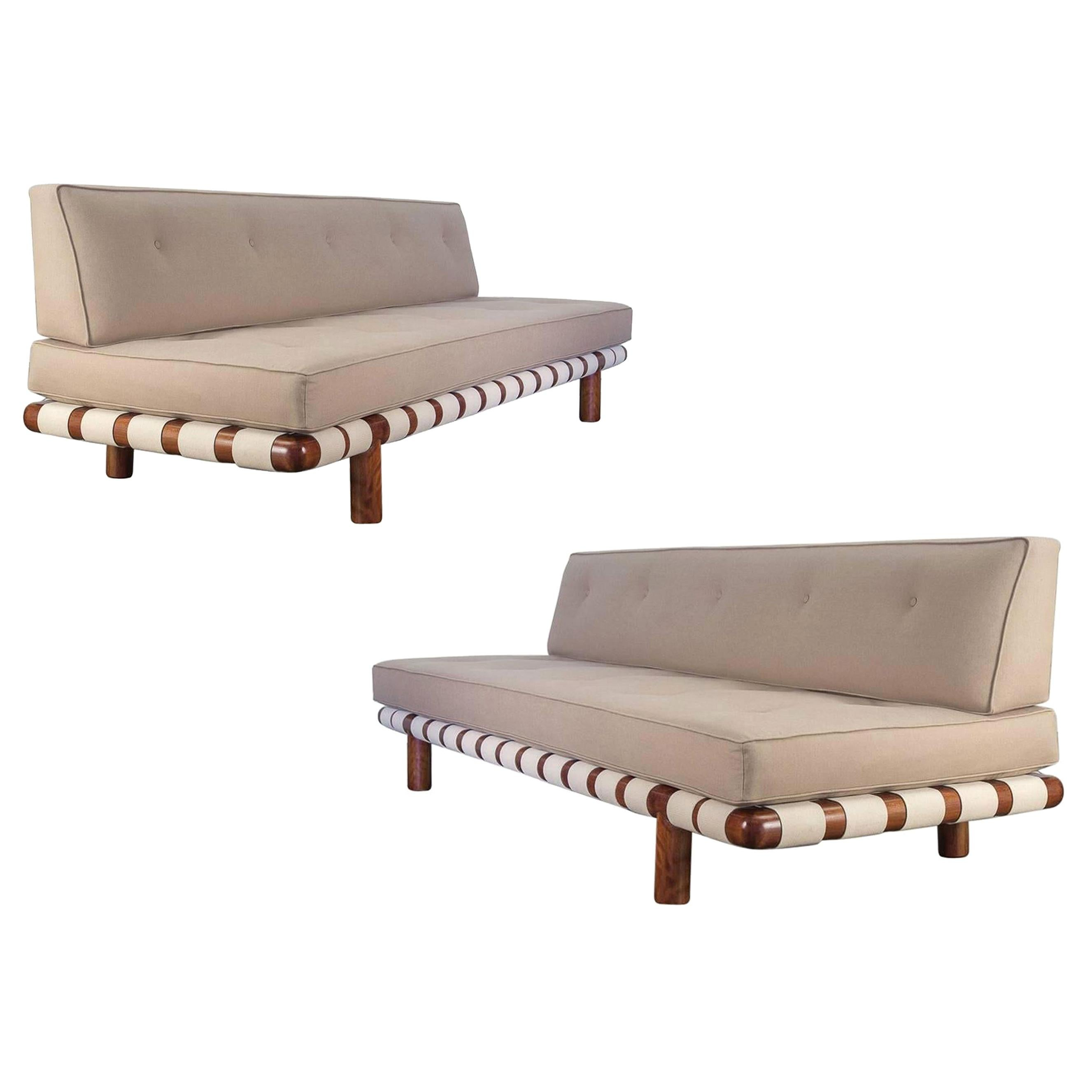 Pair of T.H. Robsjohn-Gibbings Sofas