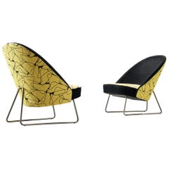 Pair of Theo Ruth Easy Chairs