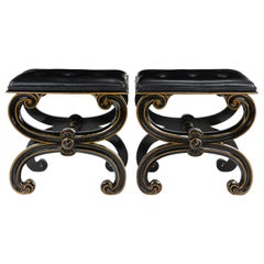 Pair of Thomas Hope Designed Stools
