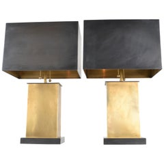 "Pair of Thomas O'Brien for Visual Comfort ""Dixon"" Lamps"