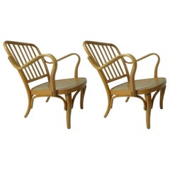 Pair of Thonet Armchairs by Josef Frank