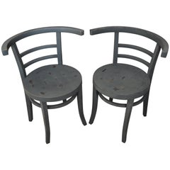 Pair of Thonet Bistro Chair, 1930