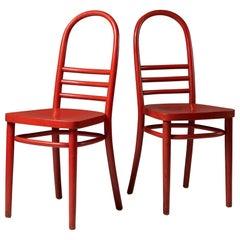 Pair of Thonet Chairs, 1920s, Austria