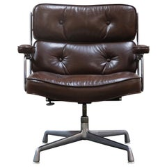 Pair of Time Life 'Lobby' Chairs by Charles Eames for Herman Miller 1970s Signed