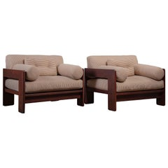 Pair of Tobia Scarpa Armchairs