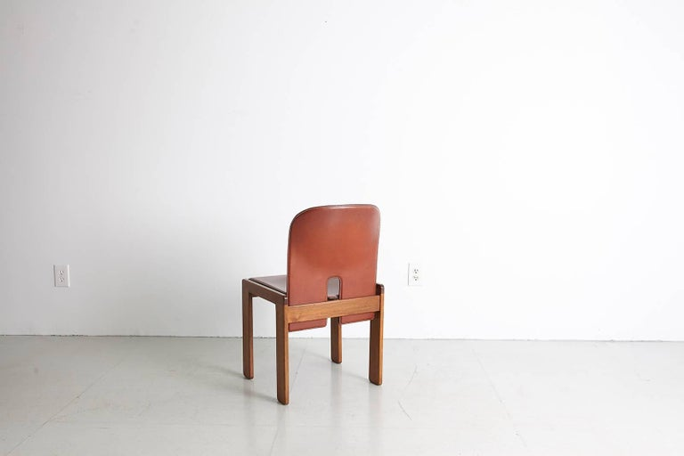 Pair of Tobia Scarpa Dining Chairs For Sale 9