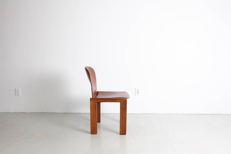 Pair of Tobia Scarpa Dining Chairs For Sale 10