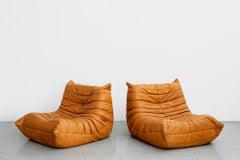 Pair of Togo Lounge Chairs by Michel Ducaroy for Ligne Roset